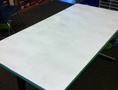 Collaboration Room with whiteboard tables in 132A