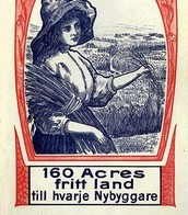 I don't know what she is saying, but 160 acres sounds great!!