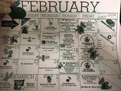 February School Calender