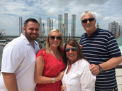 Brittni Canizaro and her family headed out on a cruise!!