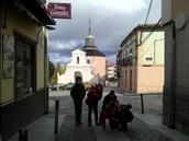 The hermitage of Jesús.