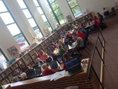 LIS Professional Learning in the beautifully renovated library
