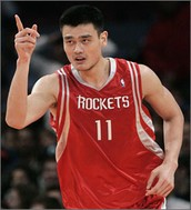 Yao Ming Houston Rockets