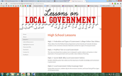 Local Government Lessons