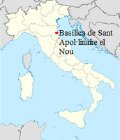 Mapa Itàlia