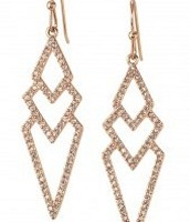 Pave Spear earrings $20