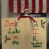 Olaf is here to wish our third graders luck!