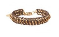 Ella bracelet - brown