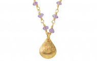 La Folie Layering Necklace - Purple