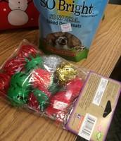 More toys for shelter kitties