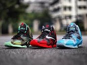 Kings Pride, Away's, and Gamma Blue's.