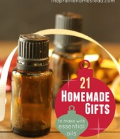 21 Homemade Gifts with Essential Oils