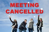 School Improvement Team Meeting - CANCELLED!