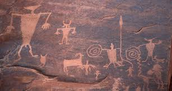 Petroglyphs(10,000bc)