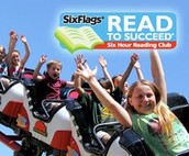 Six Flags Reading Challenge Forms are Due Tomorrow- February 22nd!