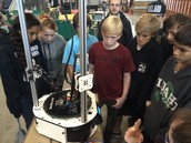 AVID students experience engineering up close