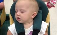 Buggy rides make me sleepy!!!