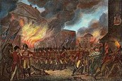 British Forces attack Washington