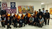 Mural Unveiling with Tibetan Monks and Crow Asian Art Center