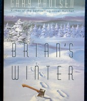 Book cover of Brians's Winter By: Gary Paulsen