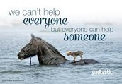 we can help someone