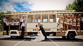 OUR SPECIAL WEDDING TRANSPORTATION ¡¡¡ CREATED FOR THIS UNIQUE EVENT
