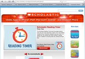 Scholastic Reading Timer and Log - app