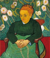 Ritratto di Augustine Roulin, Van Gogh, 1889