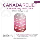 Canada Relief Wrap