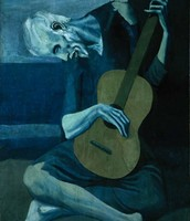 """The Old Guitarist"""