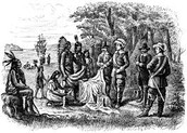 Indians and settlers