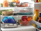 Thaw foods in refrigerator