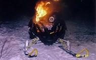 Artic Cat crash/fire