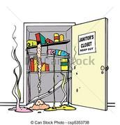 No vayas en el armario de los conserje