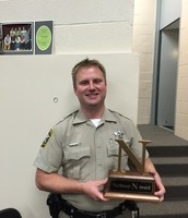Officer Szabo received the N Award in October