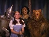 Dorothy,Tinwoodman,Lion,Scarecrow