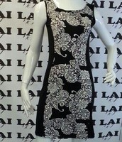 שמלה עם שילוב באמצע