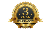 3 year manufacture warranty