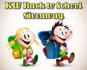 KW Back to School Giveaway