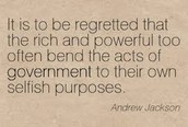 Andrew Jackson Quote