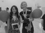 Sarah and I After The Awards Ceremony