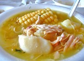 """Ajiaco"" A common dish in Colombia"