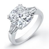 processed diamond ring