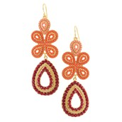 Capri Chandalier Earrings - SOLD