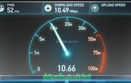 Fiber Optic Internet speeds