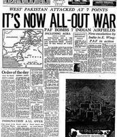 Newspaper published during the war