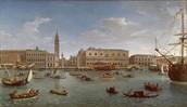 Venice's Ship Port