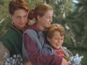 Meg, Charles and Calvin