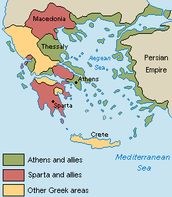 Ancient Greece Kingdoms Map