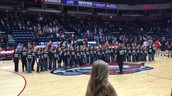 Choir Performance at State Farm Arena